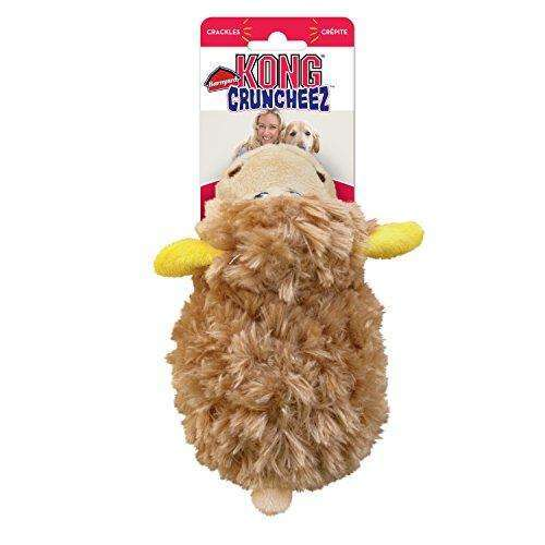 Compare cheap offers & prices of KONG Barnyard Cruncheez Sheep Dog Toy - Large manufactured by KONG