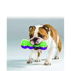 KONG Sqrunch Dumbell Dog Toy, Large