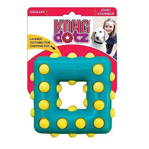 Compare cheap offers & prices of KONG Dotz Square Dog Toy - Large manufactured by KONG