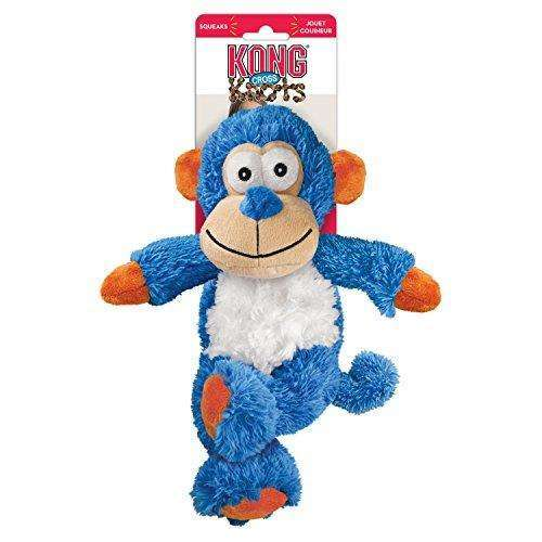 Compare cheap offers & prices of KONG Cross Knots Monkey Dog Toy Small/Medium manufactured by KONG