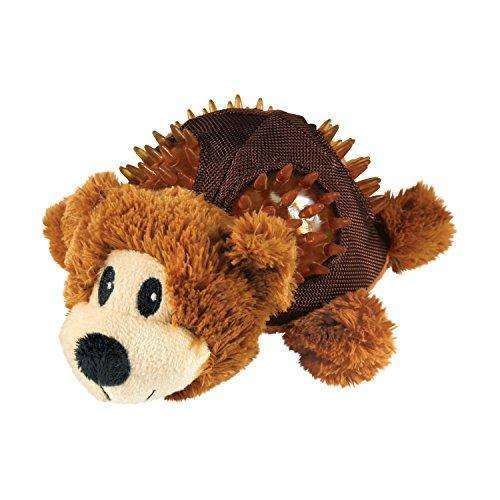 KONG Shells Bear Dog Toy