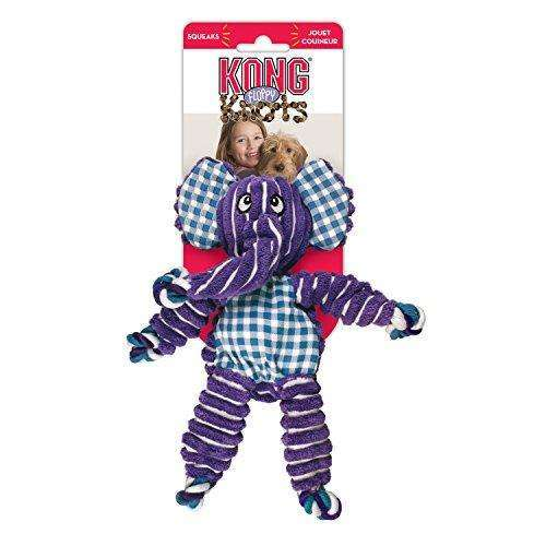 Compare cheap offers & prices of KONG Floppy Knots Elephant Ropes Medium/Large manufactured by KONG