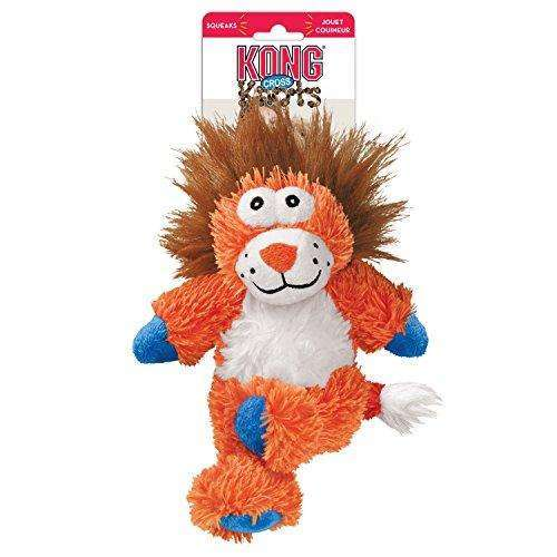Compare cheap offers & prices of KONG Cross Knots Lion Dog Toy Medium/Large manufactured by KONG