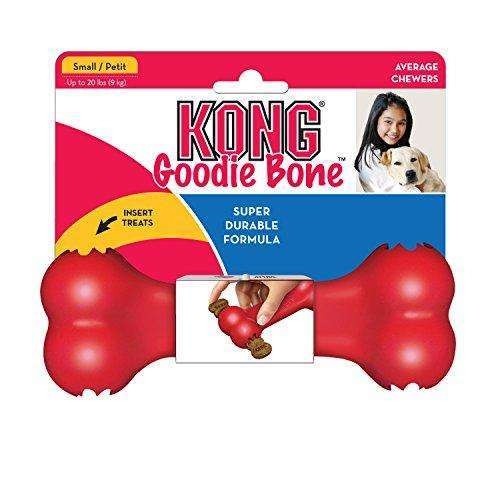 Compare cheap offers & prices of KONG Goodie Bone Dog Toy Small Red manufactured by KONG