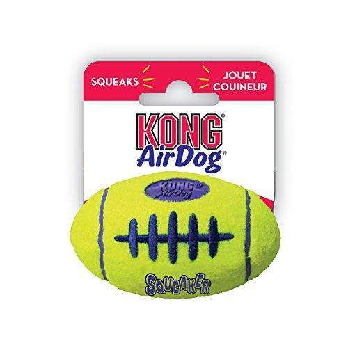 KONG Air Dog Squeaker Football Dog Toy