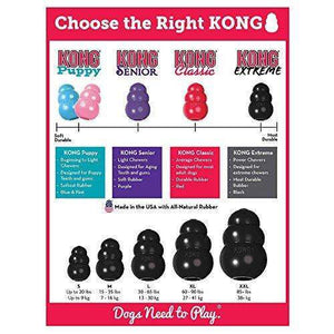 KONG Extreme Dog Toy - Large, Black