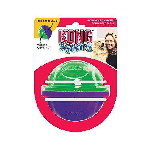 KONG Sqrunch UFO Dog Toy, Large