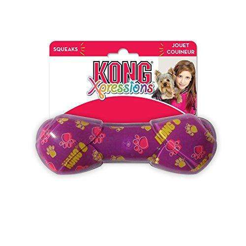Compare cheap offers & prices of KONG Xpressions Rawhide Dog Toy - Large manufactured by KONG