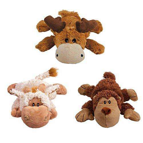 Compare cheap offers & prices of KONG Cozie Naturals Dog Toy - Monkey / Medium manufactured by KONG