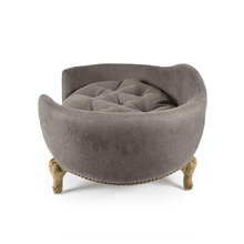 Lord Lou Antoinette Luxury Dog Bed - Charcoal Brown