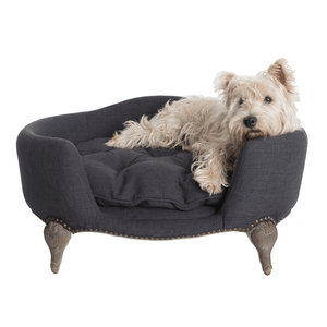 Lord Lou Antoinette Luxury Dog Bed - Anthracite