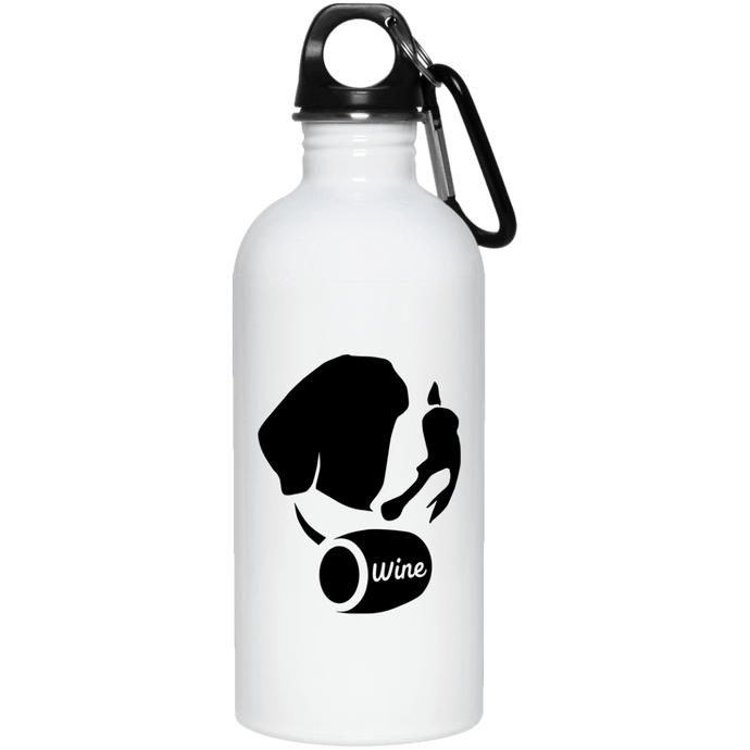 DoggieCo Wine 20 oz. Stainless Steel Water Bottle