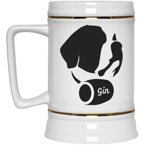 DoggieCo Gin Beer Stein 22oz.