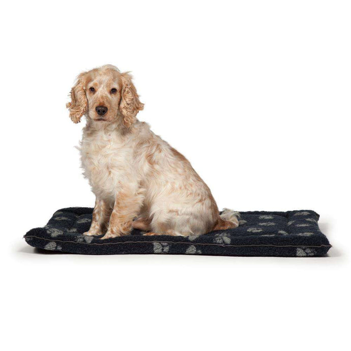 Danish Design Fleece Navy Cage Mattress