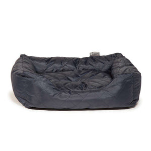 Danish Design Quilted Navy Snuggle Bed