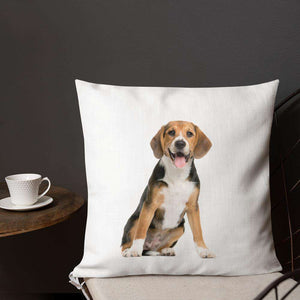 Beagle Premium Pillow