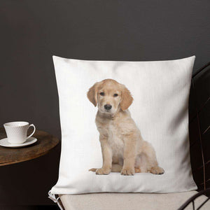 Golden Retriever Premium Pillow