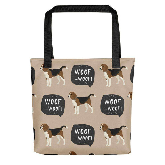 Beagles Pattern Tote Bags