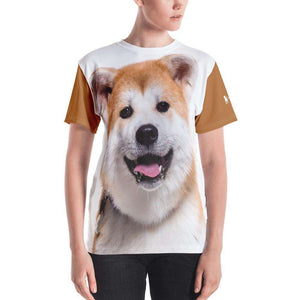 Akita All Over Fluff T-Shirt