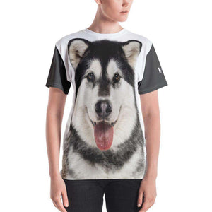 Alaskan Malamute All Over Fluff T-Shirt