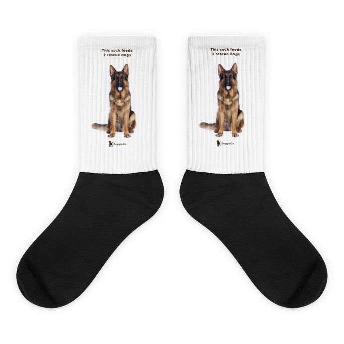 German Shepherd Socks