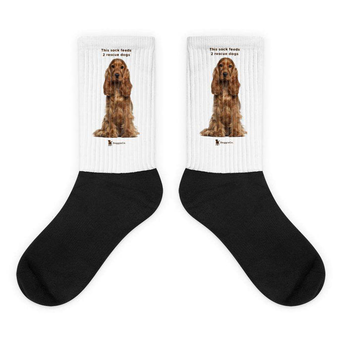 Cocker Spaniel Socks