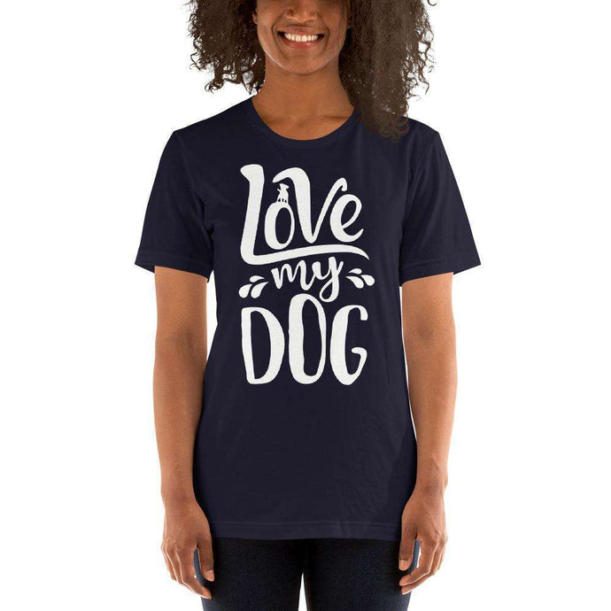 DoggieCo Love My Dog Short-Sleeve Women's T-Shirt