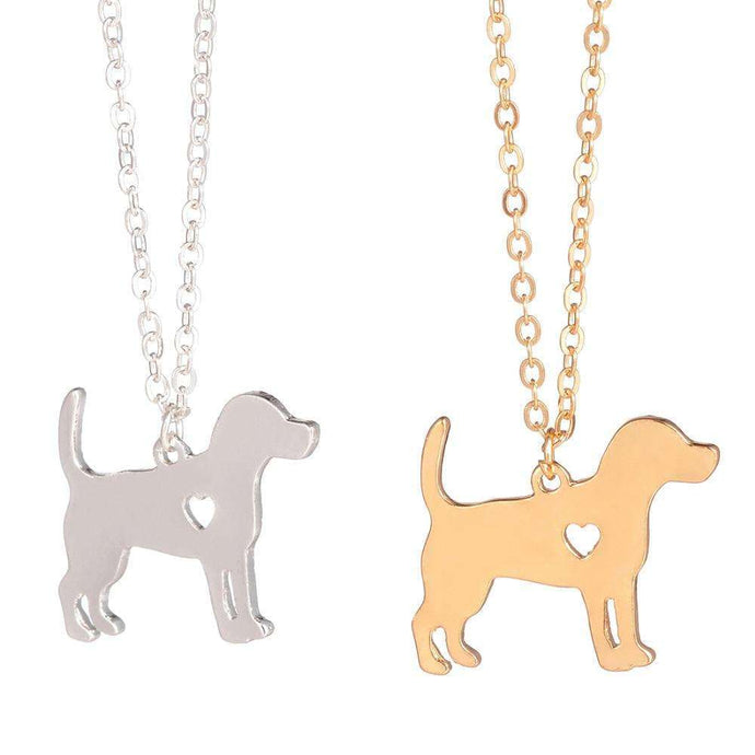 Beagle Pendant Necklace