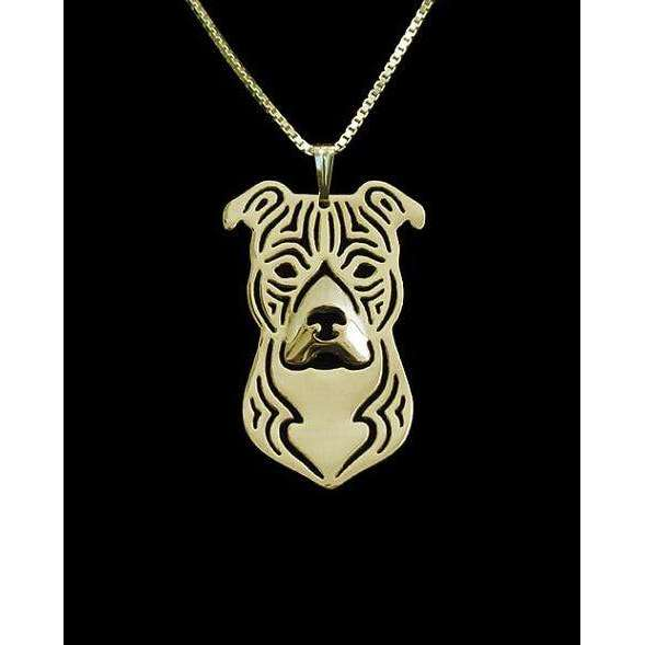 American Staffordshire Terriers Pendant Necklace