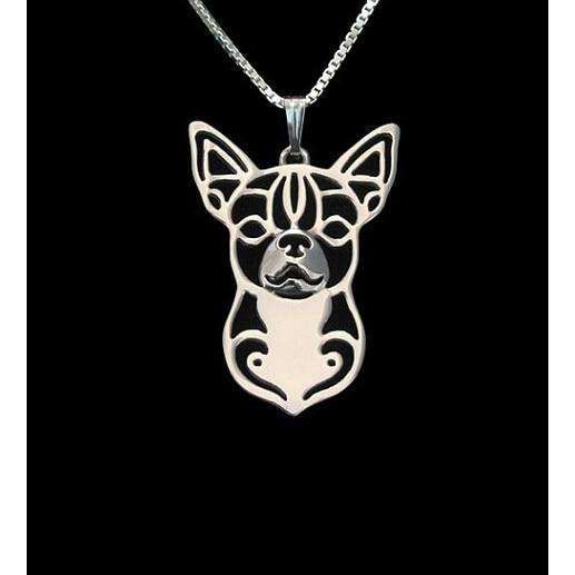 Chihuahua Dog Pendant Necklace
