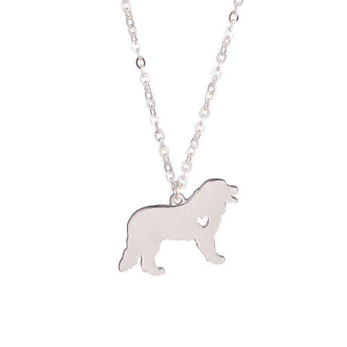 Bernese Mountain Dog Pendant Necklace