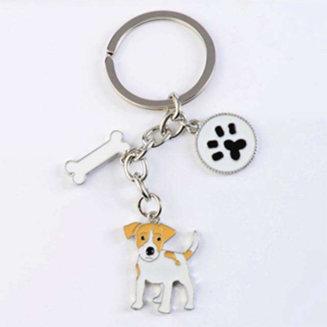 Jack Russell Terriers Keychain