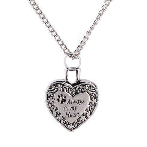 Always In My Heart Urn Necklace