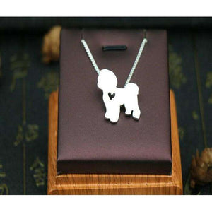 Bichon Frise Pendant Necklace