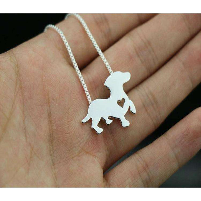 Dachsunds Dog Pendant Necklace