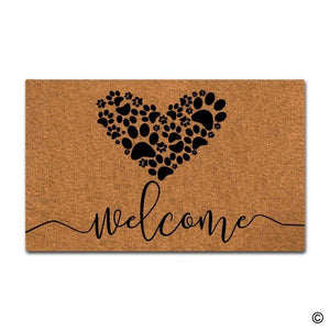 Welcome Paws Floor Mat