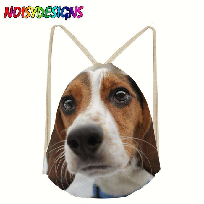 Beagle Drawstring Backpack