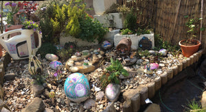 My fairy garden rockery