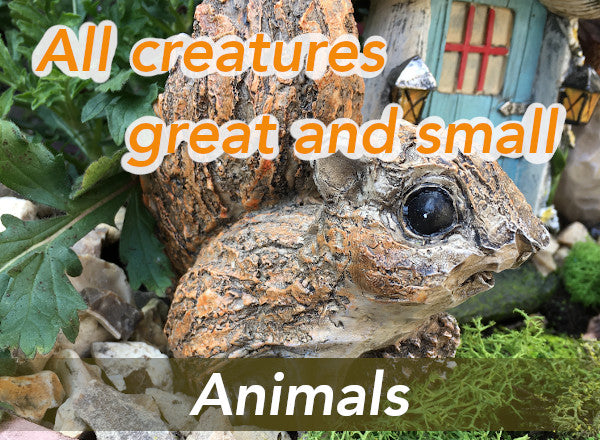 All creatures great and small - animals