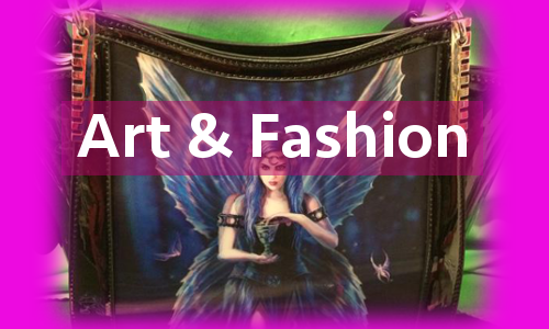 art and fashion link