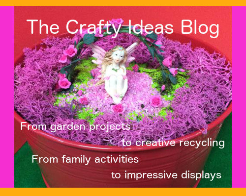 Crafty ideas blog, garden projects to creative recycling, family activities to impressive displays