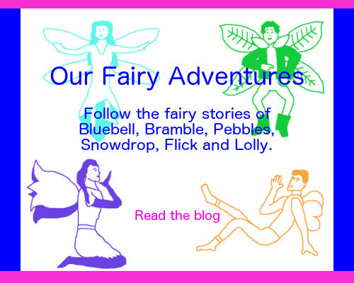 my fairy adventures, read the fairy stories of bluebell and her friends