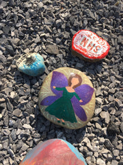 Our painted fairy stone