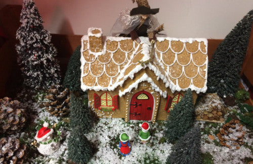 make a Hansel and Gretel garden