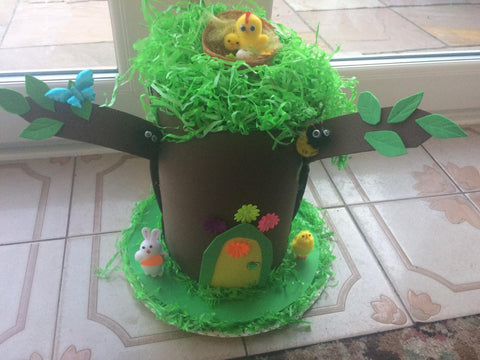 Fairy tree Easter hat