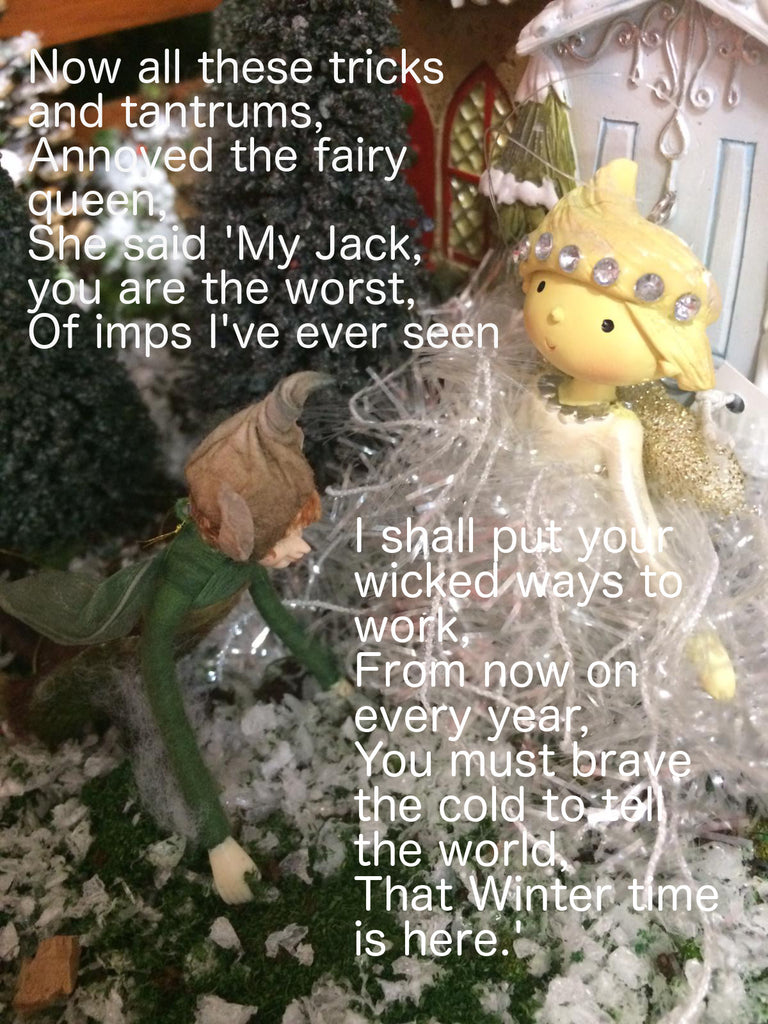 Jack Frost and the fairy queen