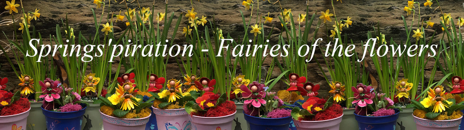 Springspiration - fairies of the flowers