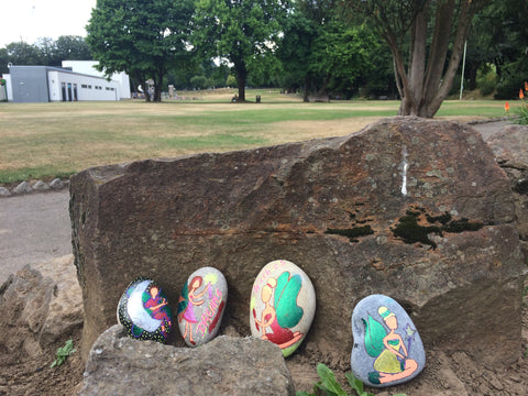Fairy stones in the park