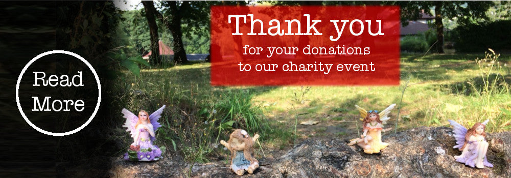 thank you for your donations to our charity event - read more