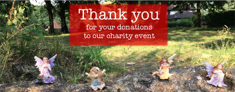 thank you for donations to our charity event